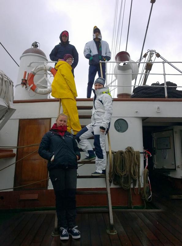 Tsykin merilukion miehistö