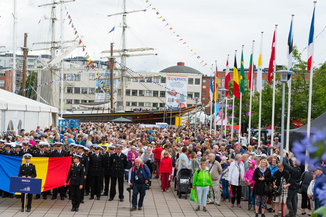 Tall Ships Racesin avajaiset