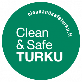 Clean & Safe -logo