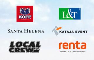Tall Ships Races 2017 yhteistyökumppaneiden logot