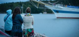 Mir-alus saapuu Turkuun.